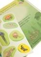 Çiçek Yayıncılık Çıkartmalı Oyunlar-Vahşi Ormanda Renkli